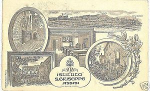 00676  CARTOLINA d'Epoca: ASSISI - PERUGIA - ILLUSTRATA
