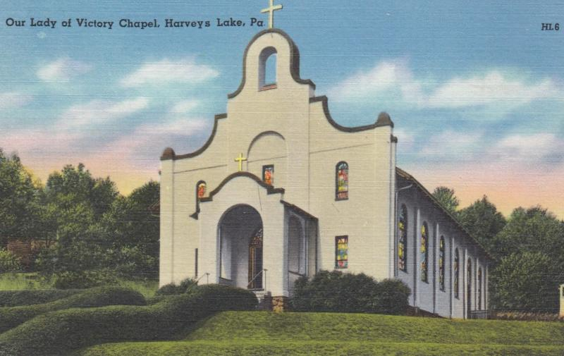 Our Lady of Victory Chapel , HARVEY'S LAKE , Pennsylvania , 30-40s