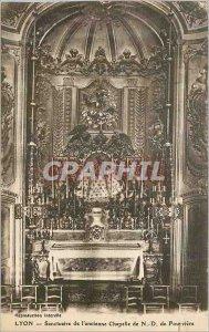 Postcard Lyon Old Sanctuary Old Chapel N D Fourviere