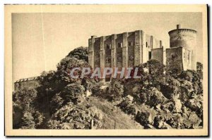 Old Postcard Falaise Chateau of William the Conqueror