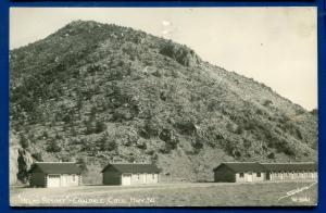 Coaldale Colorado co Helm's Resort real photo postcard RPPC