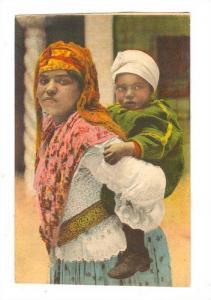 Mauresque et son enfant, Algeria, 00-10s