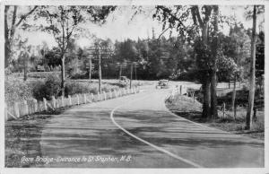 New Brunswick  St.Stephen  Gore Bridge, Entrance to St. Stephen