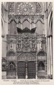 RP: TOLEDO, Catedral , Spain, 1930s ; Pipe Organ