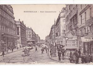 MARSEILLE , France , 00-10s : Rue Cannebiere