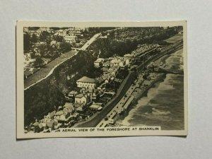 CIGARETTE CARD - SENIOR SERVICE BRITAIN #08 SHANKLIN ISLE OF WIGHT  (UU470)