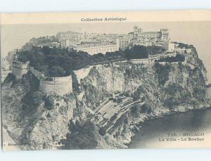 Unused Old Postcard PANORAMIC VIEW Monaco City - Monaco-Ville Monaco F5331