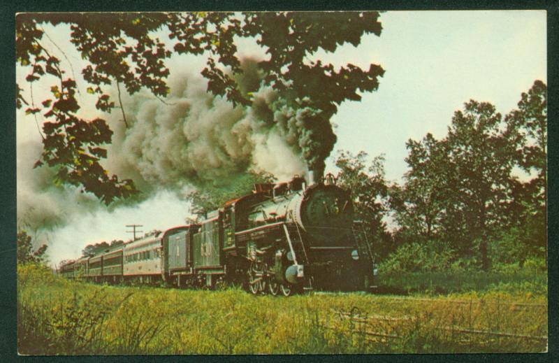 Southern Railway Consolidation 630 Steam Engine Excursions Train Railroad