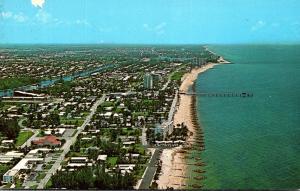 Florida Deerfield Beach Aerial View
