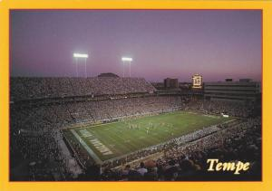 Bird's Eye View of Arizona State University, home of the Fiesta Bowl Football...