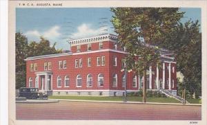 Maine Augusta Y M C A Building 1940