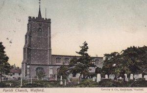 WATFORD, Hertfordshire, England, 1900-1910's; Parish Church
