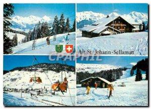 Postcard Modern Alt St. Johann Sellamatt Obertoggenburg