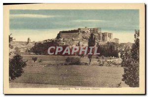 Postcard Old West Grignan general view