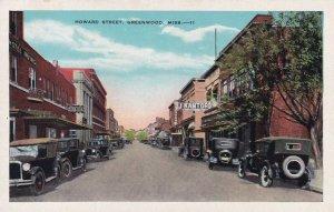 GREENWOOD , Mississippi , 1910s ; Howard Street