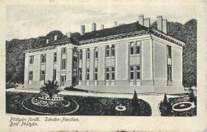 Bad Postyen Sandor Pavillon Hungary 1917