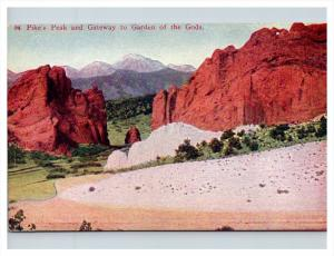 Colorado  Pike's Peak and Gateway of the Gods