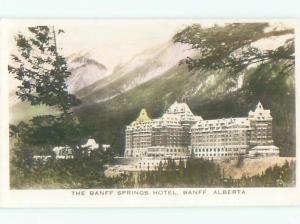 Old RPPC - BANFF SPRINGS HOTEL Alberta AB p2590