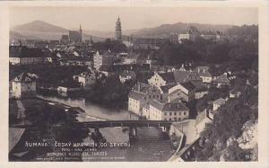 RP; Sumava: Cesky Krumlov , od Severu , Czech Republic , 20-30s