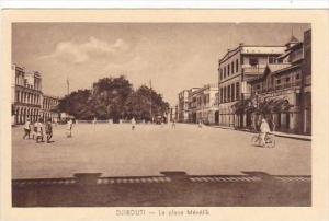 Djibouti La place Menelik