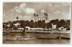 UK The Tower of London And River Thames 01.15