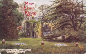 FRESHWATER , I. o. W. , UK , PU-1905 ; Tennyson's Home Farringford ; TUCK
