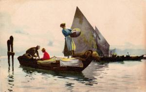 People On Boats, 1910-1920s