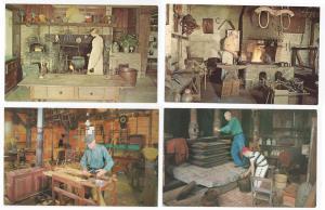 Monroe NY Postcard Smith's Clove Kitchen Blacksmith 4 Cards
