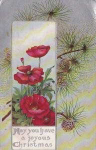Christmas With Beautiful Flowers 1909