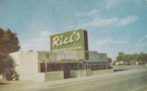 AMARILLO , Texas , 1955 ; Route 66 / RT 66 ; Rice's Dining Salon