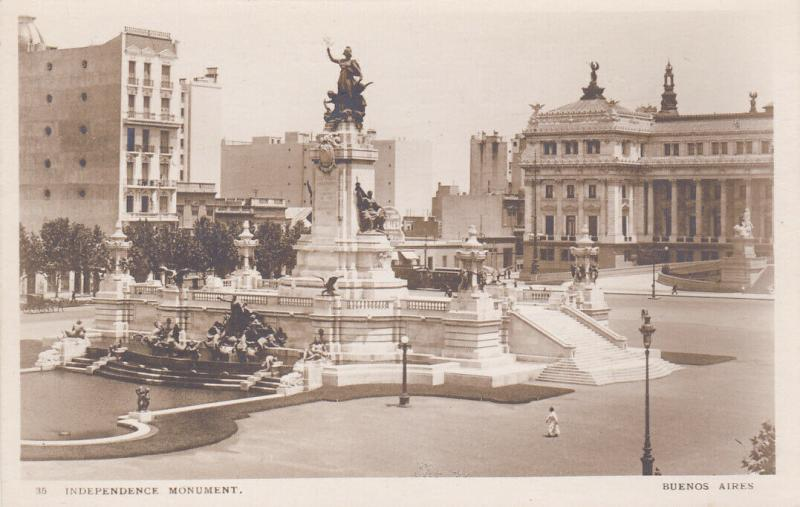 RP; BUENOS AIRES , Argentina , 20-40s; Independence Monument