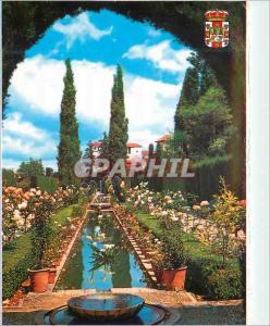 Postcard Modern Granada