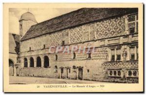 Old Postcard Varengeville Le Manoir d & # 39Ango