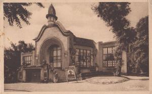 Saint Aubin Sur Mer Gambling Roulette Card Games Casino French Antique Postcard