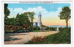Gettysburg, Pa, The Summit of Little Round Top
