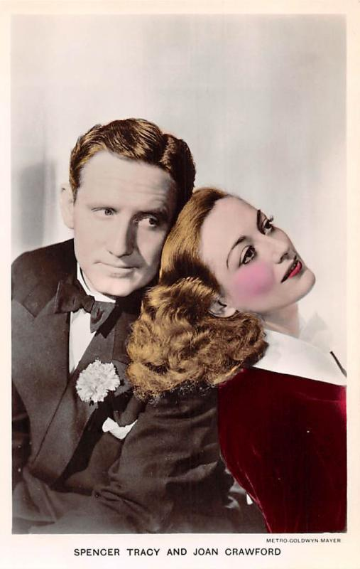Spencer Tracy, Joan Crawford, Metro, Cinema Film Actors Film Partners Makeup