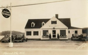 RP; MEREDITH , New Hampshire , 1930s ; Pettengill's Restaurant