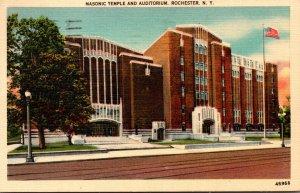New York Rochester Masonic Temple and Auditorium 1947