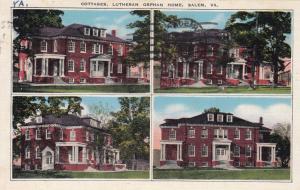SALEM , Virginia , 10-30s ; Cottages, Lutheran Orphan Home