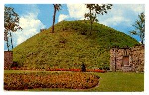 WV - Moundsville. The Grave Creek Mound