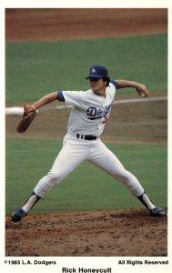 Rick Honeycutt,LA Dodgers Baseball