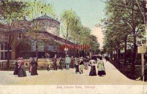 pre-1907 ZOO, LINCOLN PARK. CHICAGO, IL 1906