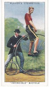 "Cigarette Cards Players CYCLING No 12 ""Invincible"" Bicycle"
