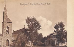 CASSELTON, North Dakota, 1900-10s; St. Stephen's Church