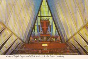Colorado Colorado Springs United States Air Force Academy Cadet Chapel Organ ...