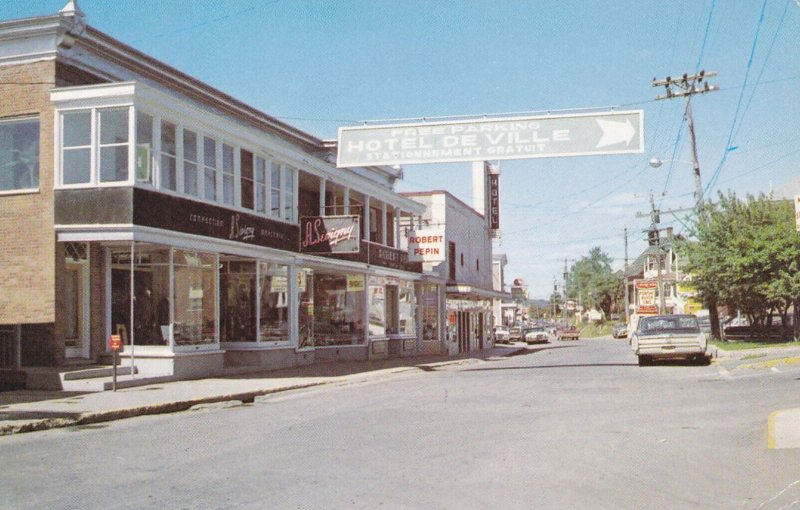 St-Georges (Beauce), Quebec Canada , PU-1968 , Rue commerciale