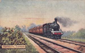 UK Railroad Train ; YARMOUTH Express, 00-10s ; TUCK