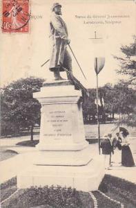 Statue du General Jeanningros, Lafaucheg, Sculpteur, Franche-Comte, France, P...