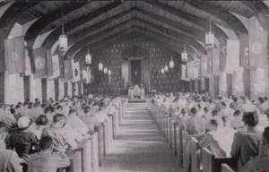 New York Canadaigua Church Interior Dexter Press