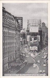 Hotel Astor On Times Square New York City 1950